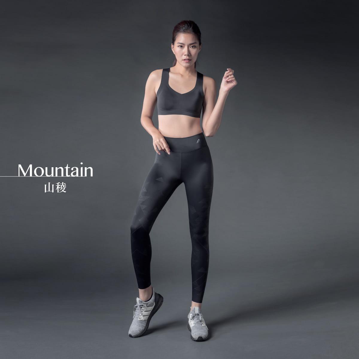 TENO超彈感美型健身褲-Mountain山稜 8