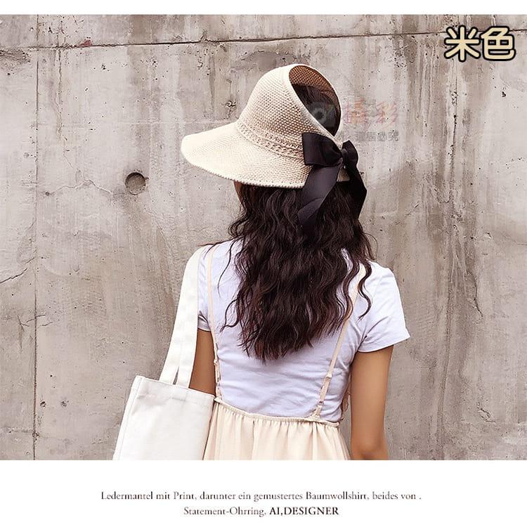 女用空頂遮陽帽 6