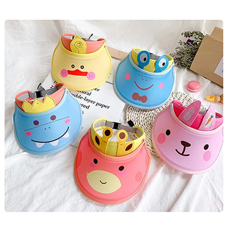 【JAR嚴選】兒童涼感防曬遮陽帽 (送袖套) 6