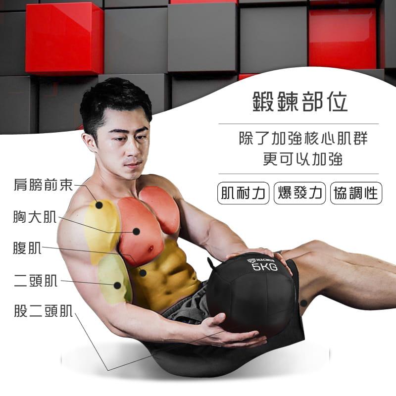 【MACMUS】4公斤軟式藥球|重力球健身球|Medicine Ball 2