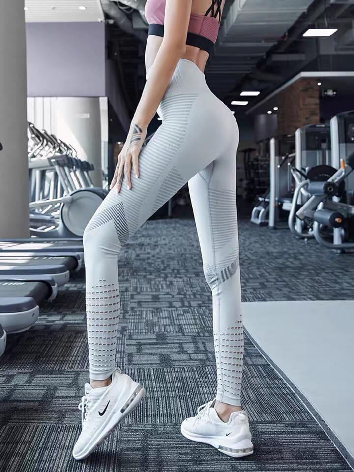 運動長褲無縫大尺碼S-XL韻律有氧跑步瑜珈-KOI 3