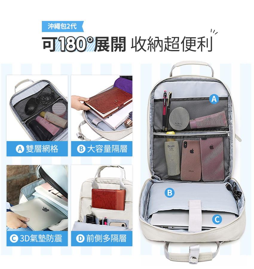 【好旅行】【沖繩包2代】輕旅行多功能後背包 2