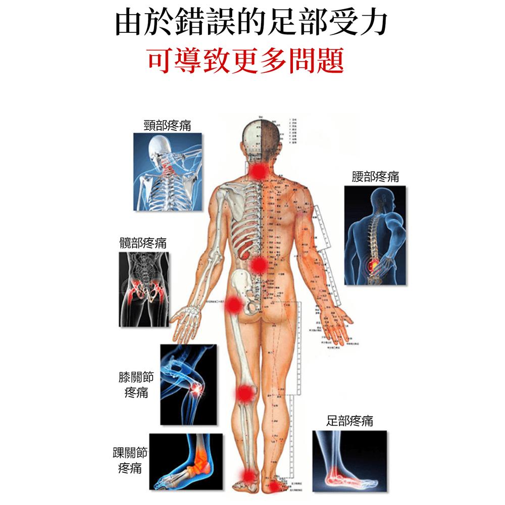 日本運動扁平足矯正鞋墊 8