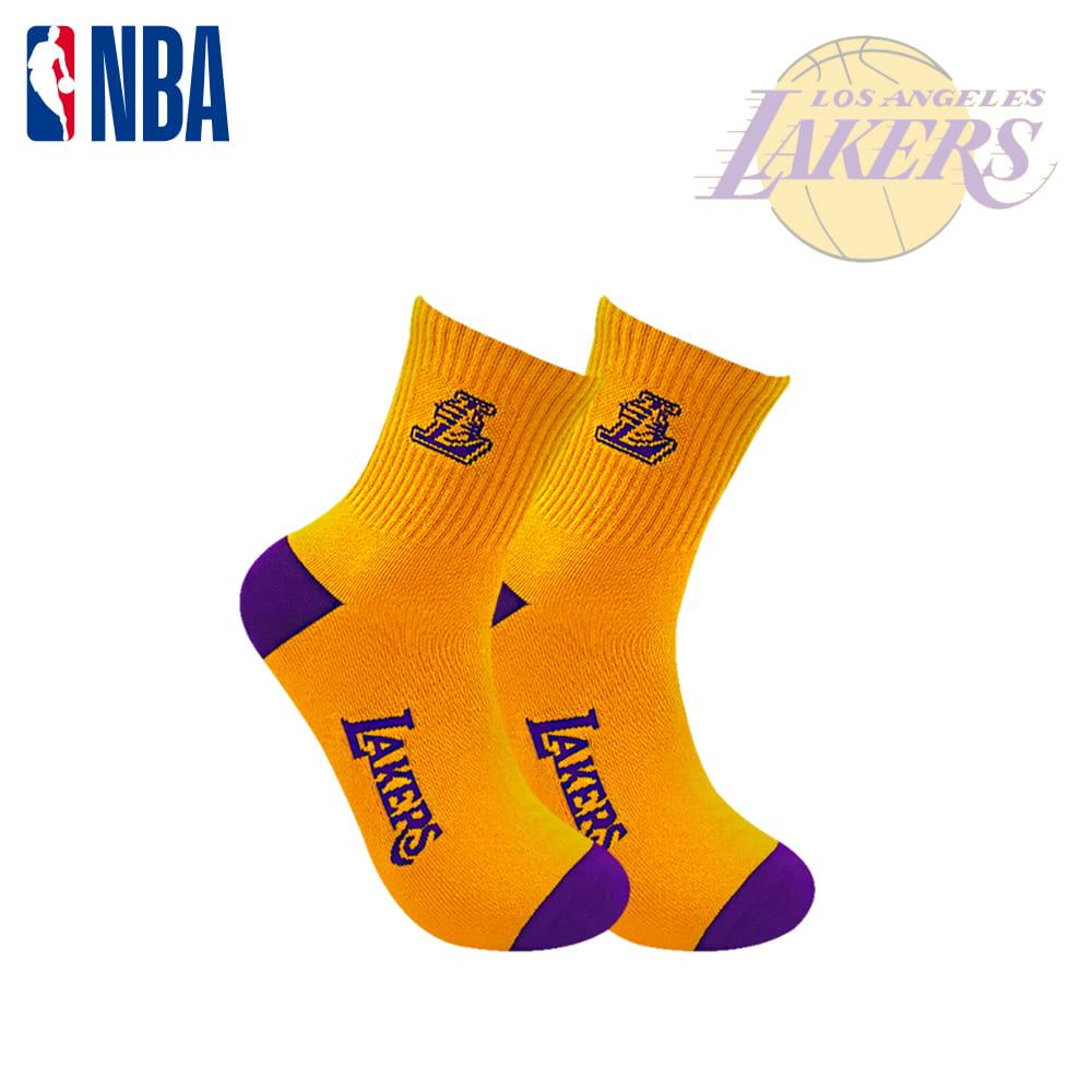 【NBA】球隊款緹花中筒襪 9