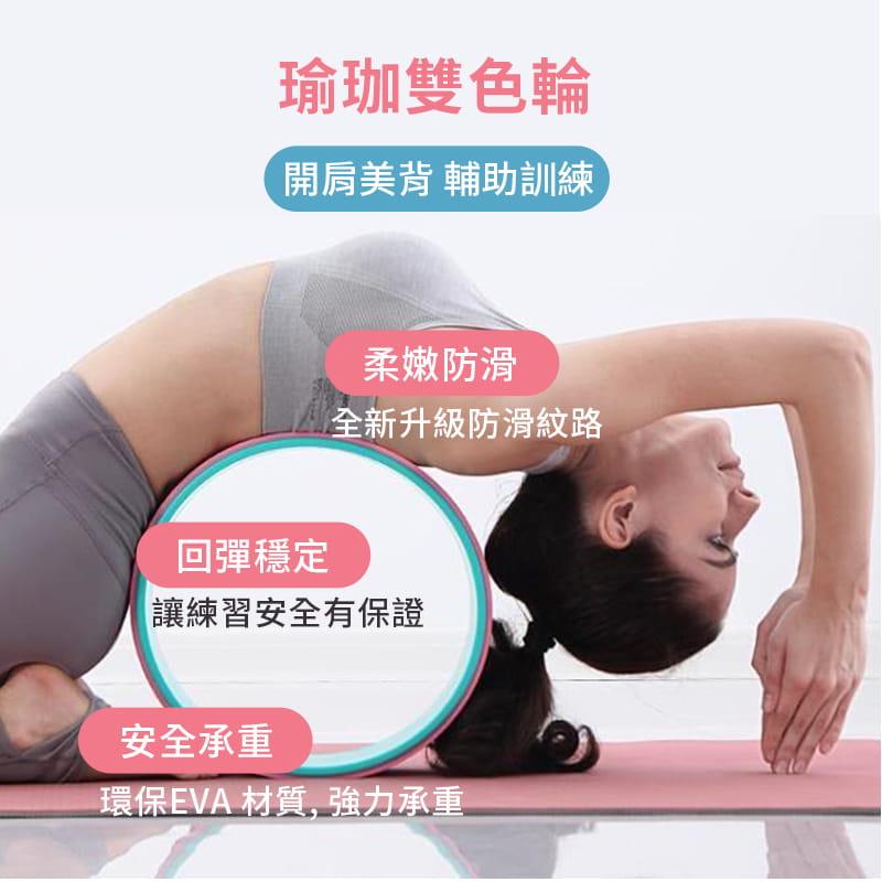 瑜珈輪◆3D菱形 滾輪柱 EVA 瑜珈滾筒 滾輪 達摩輪 後彎神器 普拉提斯 平衡按摩 筋膜 6
