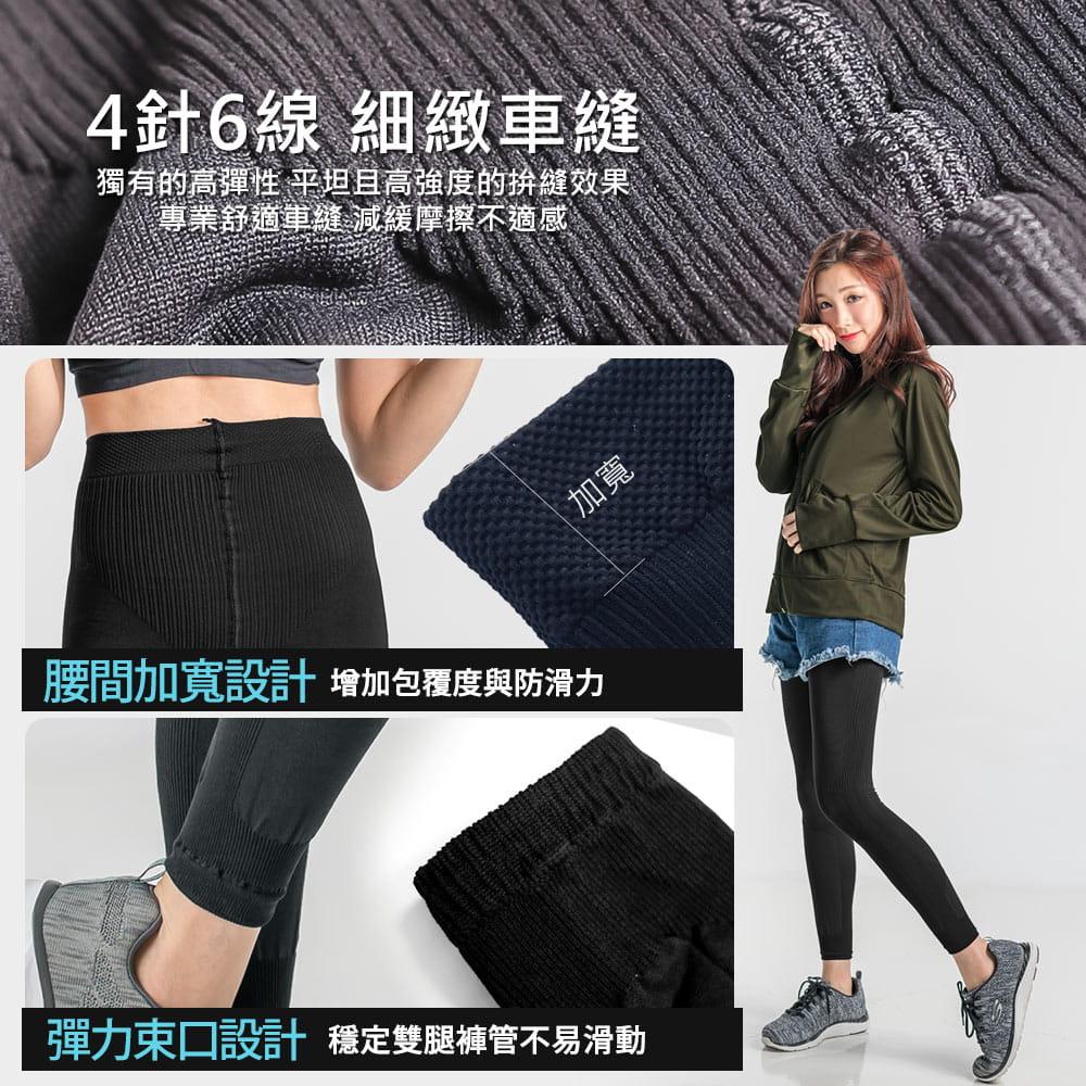 【BeautyFocus】台灣製微動感機能塑型褲2372 7