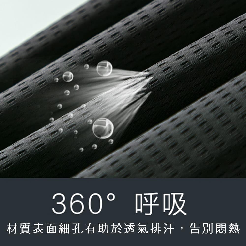 【NEW FORCE】冰涼超透氣抽繩彈性男運動短褲-2色可選 4