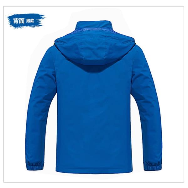 男女戶外機能防風防水衝鋒外套 13