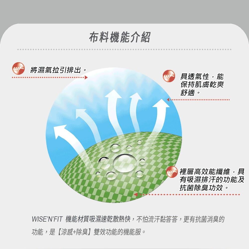 【WISENFIT】台灣製- 涼感抗菌 A字修飾下擺 外搭背心 3