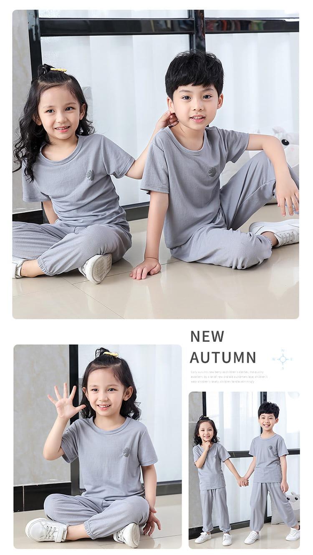 【JAR嚴選】兒童冰絲防蚊休閒兩件套套裝 10
