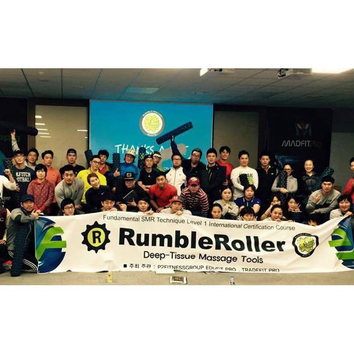 Rumble Roller 深層按摩滾輪 狼牙棒 長版 強化 12