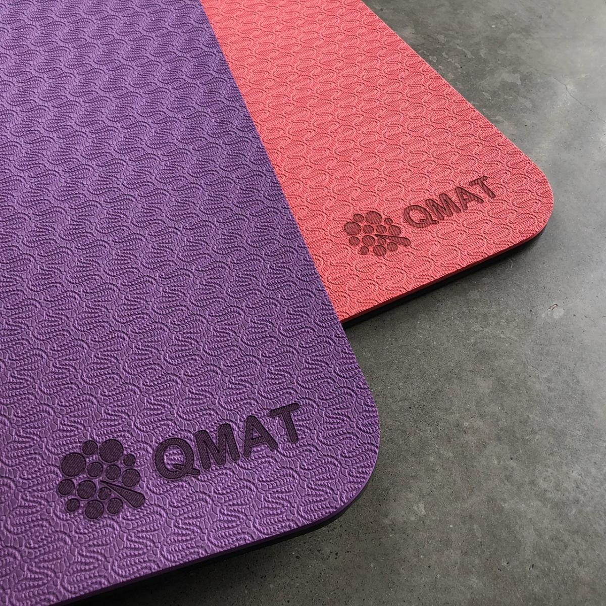 【QMAT】 10mm 雙色運動墊(共六色) 3