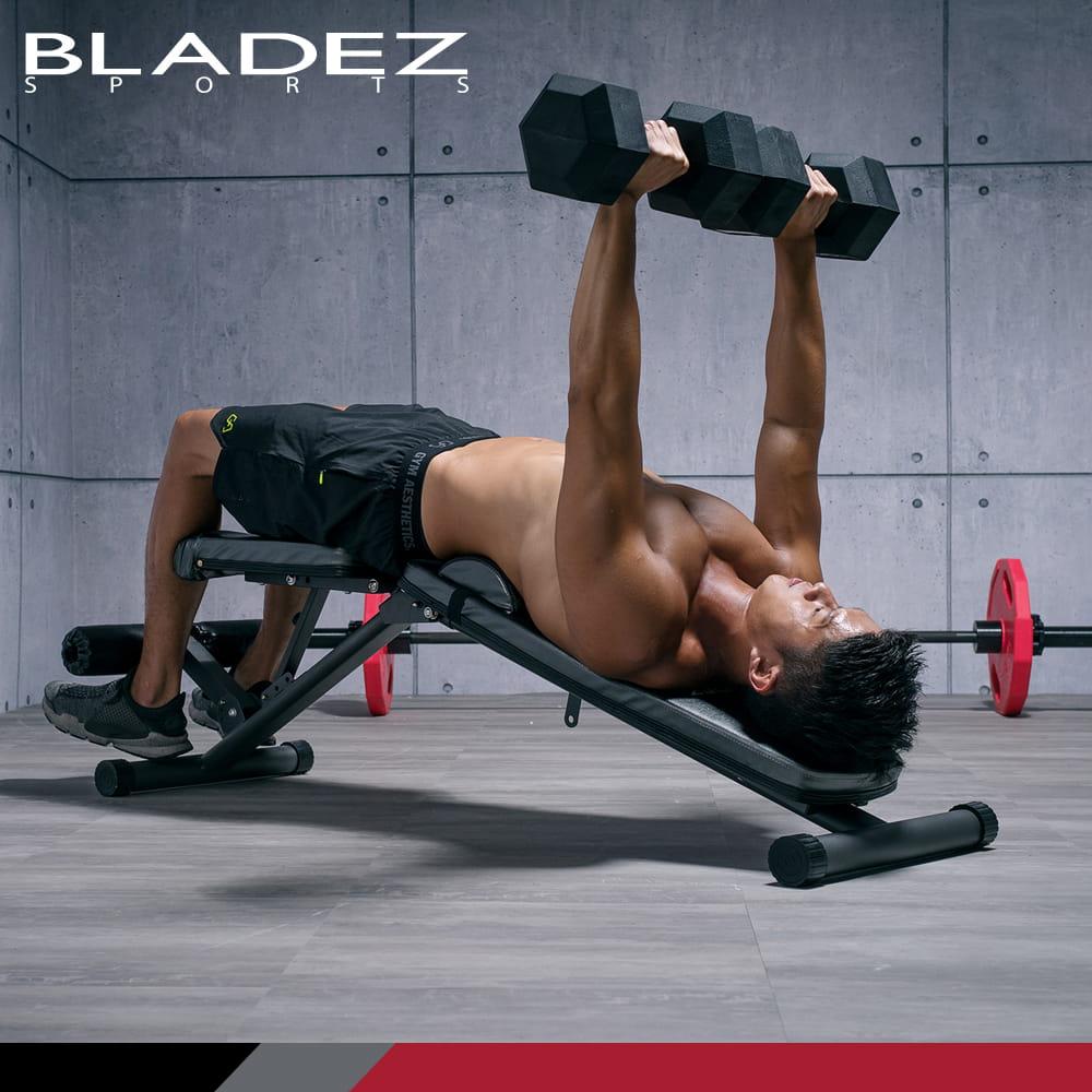 【BLADEZ】BW13-2.0-舉重床/複合式重訓椅
