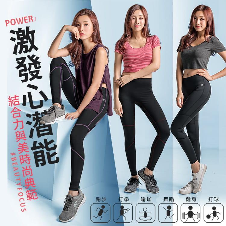 【BeautyFocus】男女智能調節運動壓力褲 2