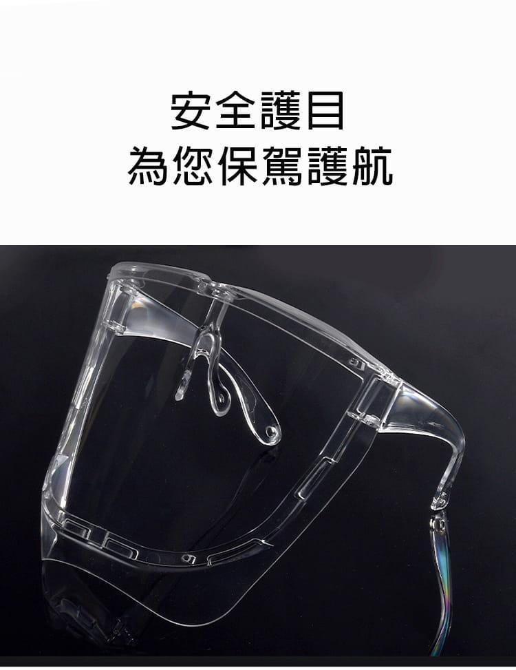 【JAR嚴選】COVID19全臉防疫面罩 7