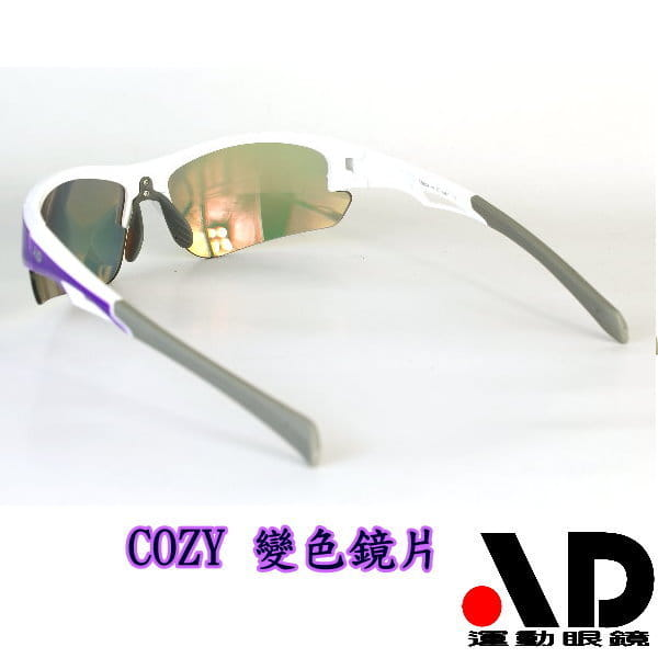【AD運動眼鏡】AD-COZY高科技多層鍍膜變色鏡片運動太陽眼鏡/白天到夜晚一付搞定/全方位保護眼睛 3