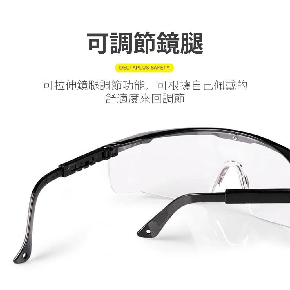 【JAR嚴選】多功能防疫防塵護目鏡(防飛沫) 7