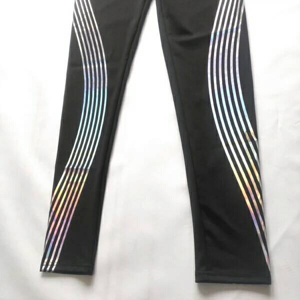 運動長褲韻律有氧跑步瑜珈-KOI 顯瘦修身 反光設計 夜跑走路安全易見有保障 4