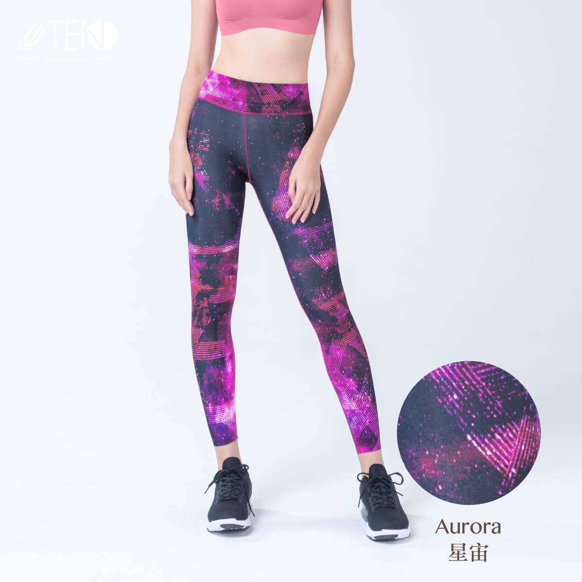 TENO超輕量運動休閒花花褲-設計師限量款 1