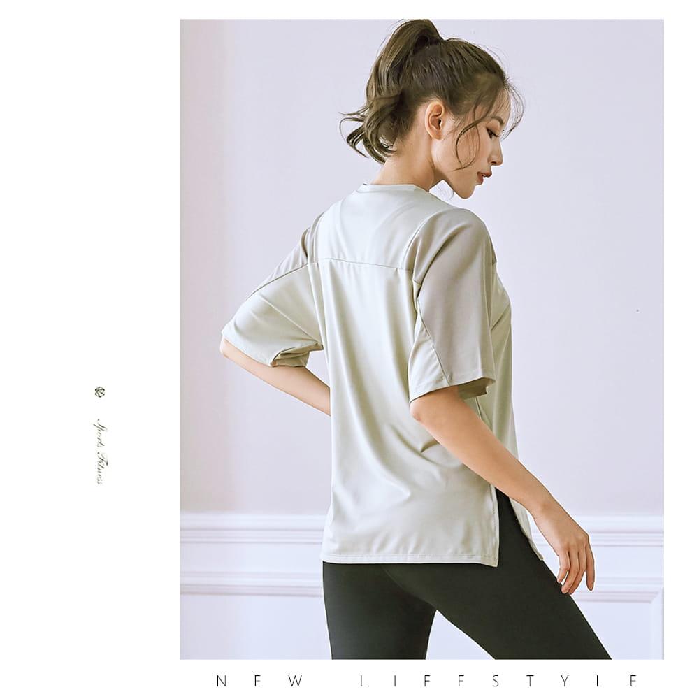 【NEW FORCE】寬鬆透氣健身瑜珈女上衣-3色可選 6