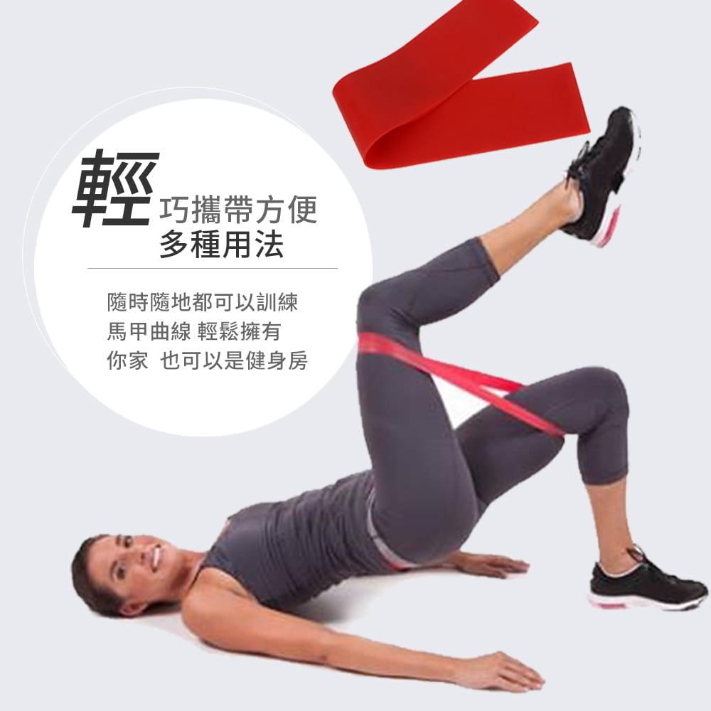 【NORDITION】迷你環狀彈力圈組◆台灣製 拉力圈 瘦腿提臀拉力環 健身房 瑜珈 訓練 阻力帶 TRX 多功能 拉筋 5