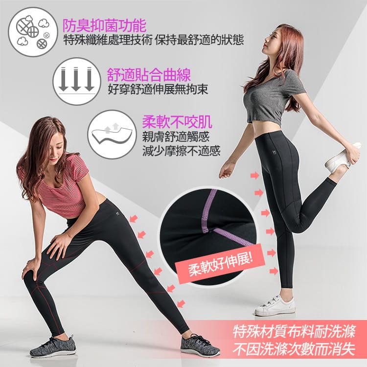 【BeautyFocus】男女智能調節運動壓力褲 5