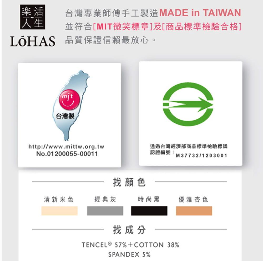 【樂活人生LOHAS】台灣製奧地利智慧科技吸汗快乾天絲棉運動內衣 18