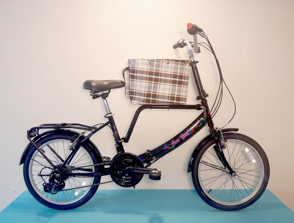 台製 20吋 21速 SHIMANO 摺疊 中籃 寵物腳踏車 4