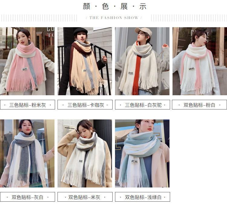 【JAR嚴選】時尚秋冬必備韓版情侶款保暖圍巾 17