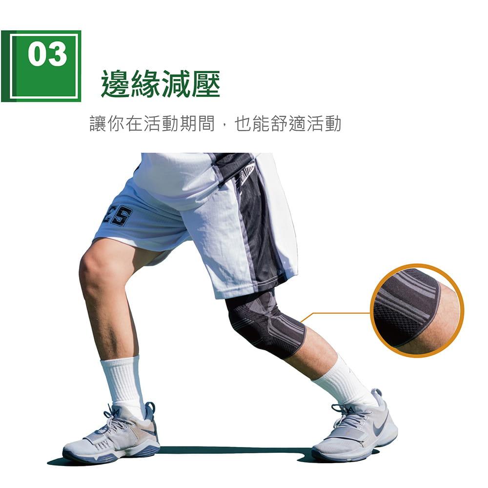【艾肯仕】AC-7S02套入式凝膠護膝(MIT台灣製造) 4