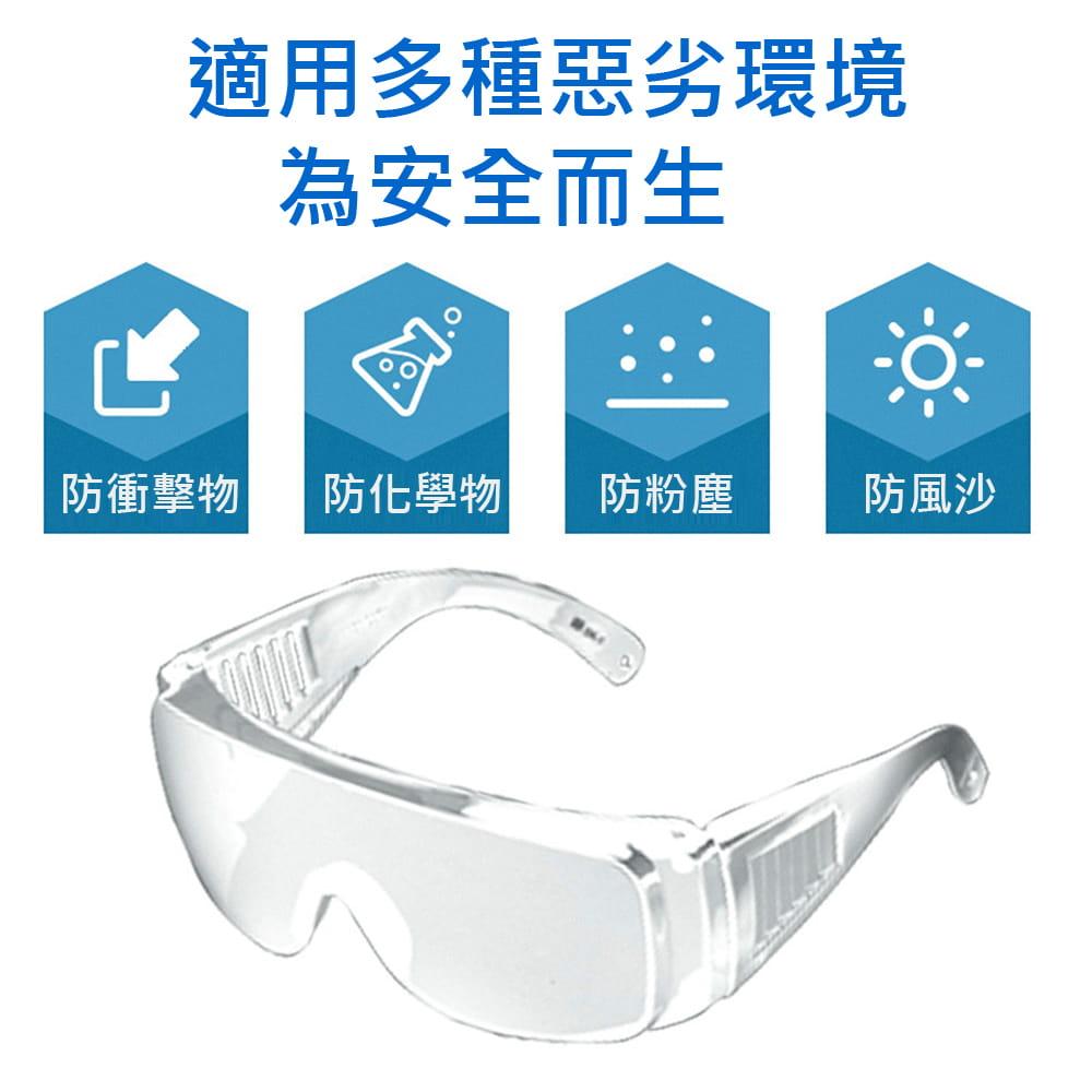 【英才星】台灣製防霧透明運動護目眼鏡 加贈眼鏡袋+眼鏡布 4