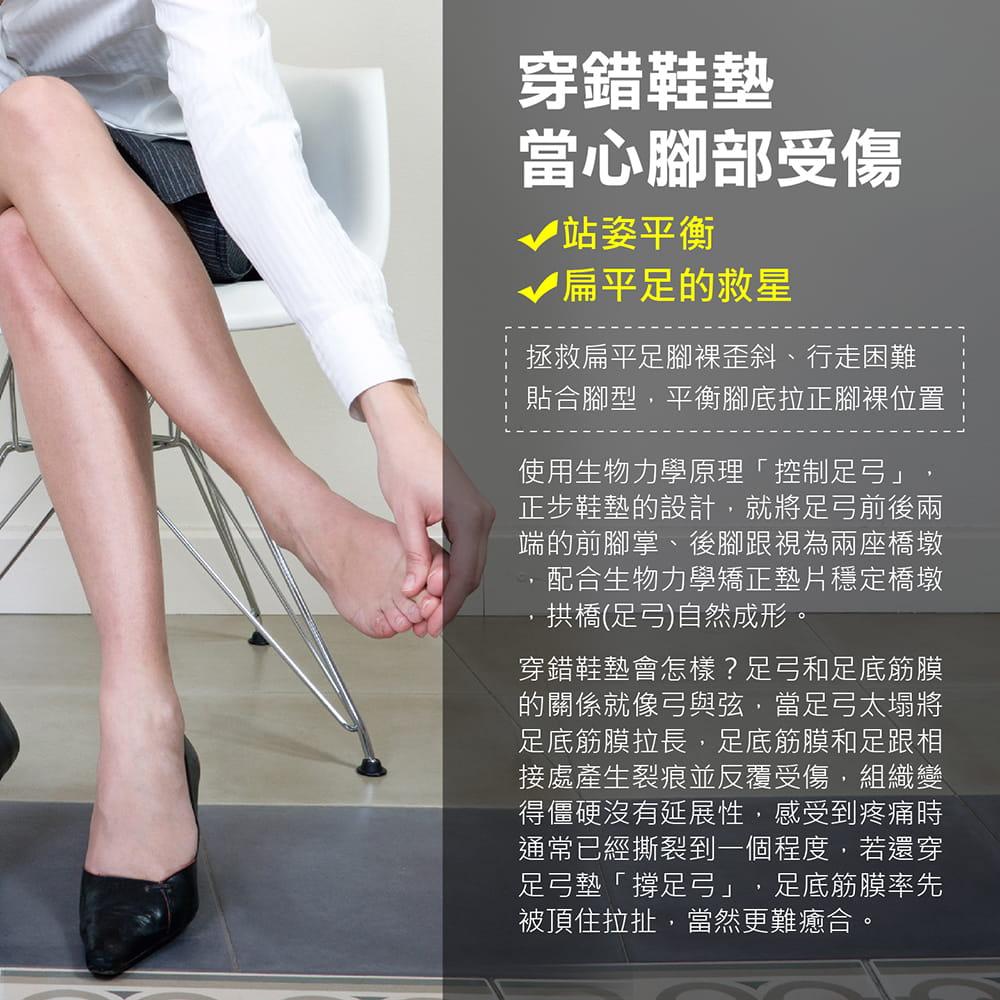 【機能型-運動足弓鞋墊】多尺寸任選 扁平救星 鞋墊 足弓墊 4