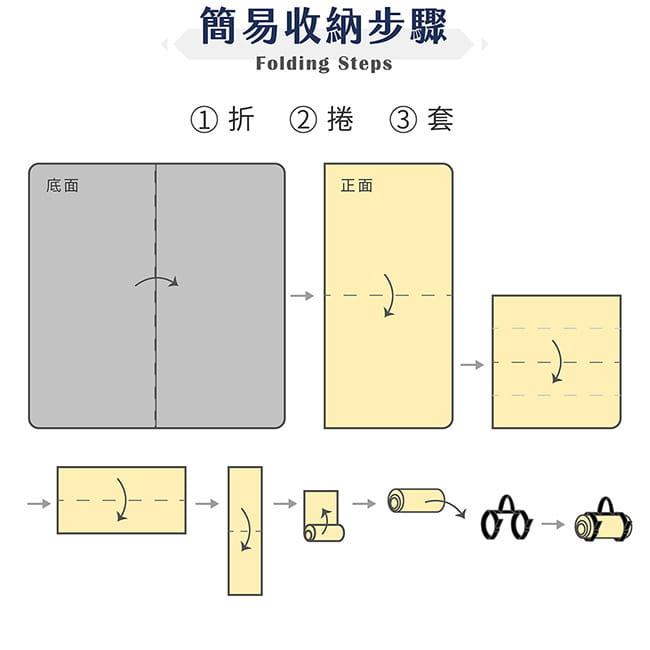 【OUTSY】台灣製300x290巨大獨家花色野餐墊帳篷地墊 12