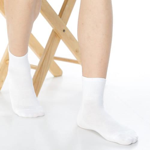 【可諾帕】網狀造型1/2加大短襪中性x4雙C97006-X 1