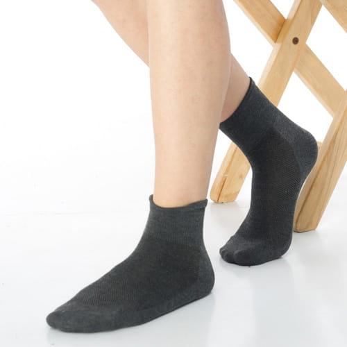 【可諾帕】網狀造型1/2加大短襪中性x4雙C97006-X 4