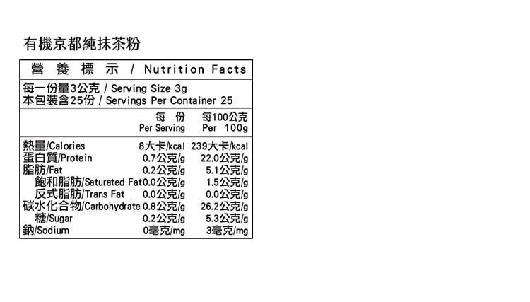 【米森Vilson】乳清蛋白自己調!(無調味分離乳清蛋白粉+有機京都純抹茶粉) 12