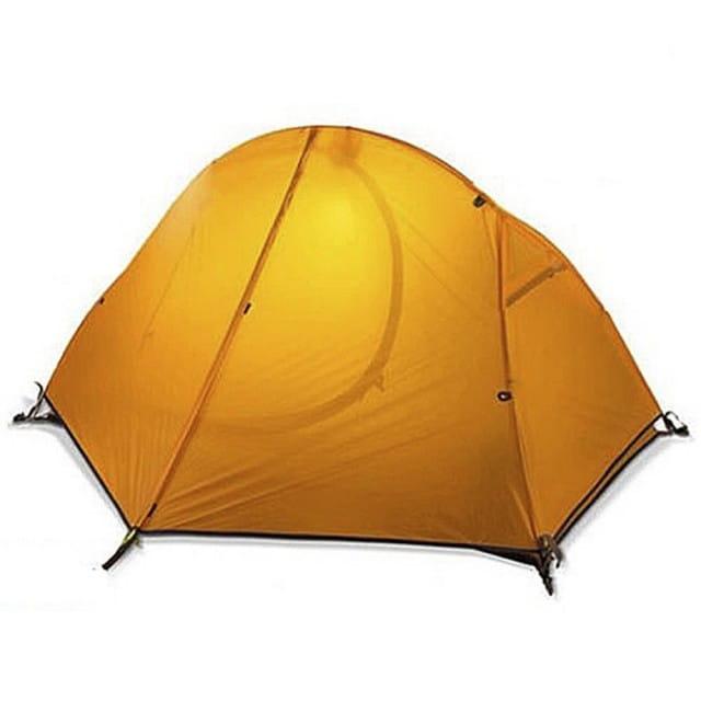 雲尚 20D 矽膠布 單人雙層帳篷 鋁合金帳篷 單人帳篷 登山帳篷 0