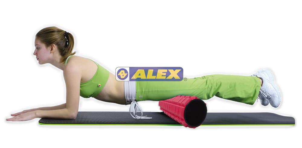 【ALEX】多功能瑜珈滾筒 按摩滾輪  瑜珈柱 7