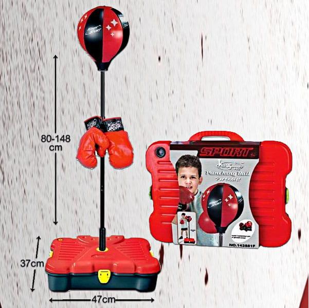 【史酷迪】可攜帶式兒童有氧拳擊訓練組 7