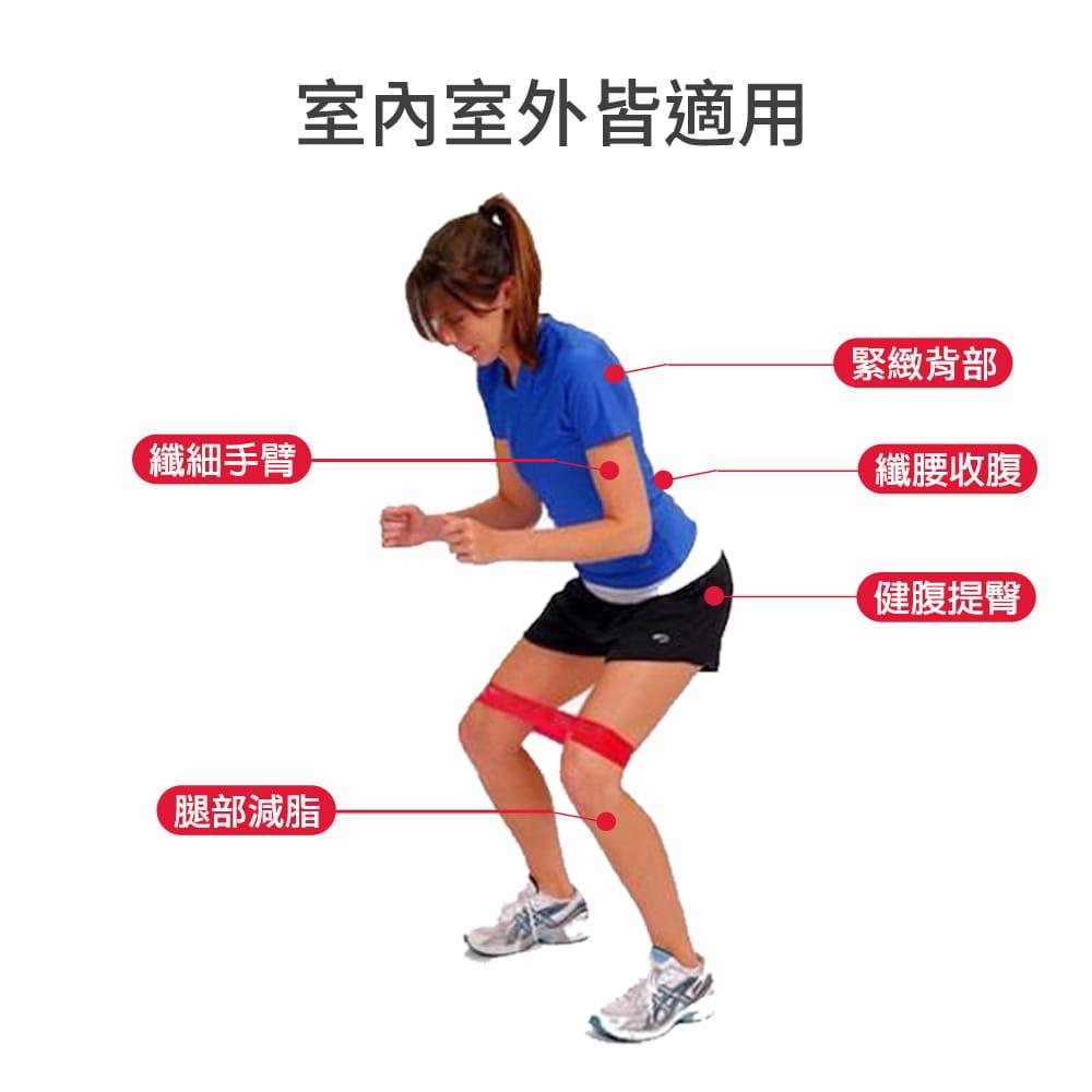 【NORDITION】迷你環狀彈力圈組◆台灣製 拉力圈 瘦腿提臀拉力環 健身房 瑜珈 訓練 阻力帶 TRX 多功能 拉筋 2