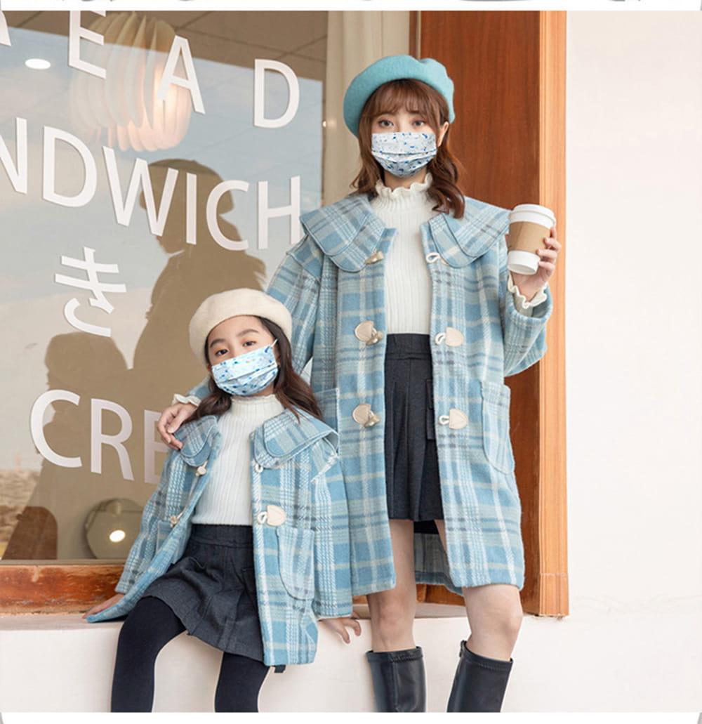 【英才星】SGS檢驗合格 經典小香風親子款綜合款口罩(50入)成人款/兒童款 不含偶氮色料及游離甲酫 5