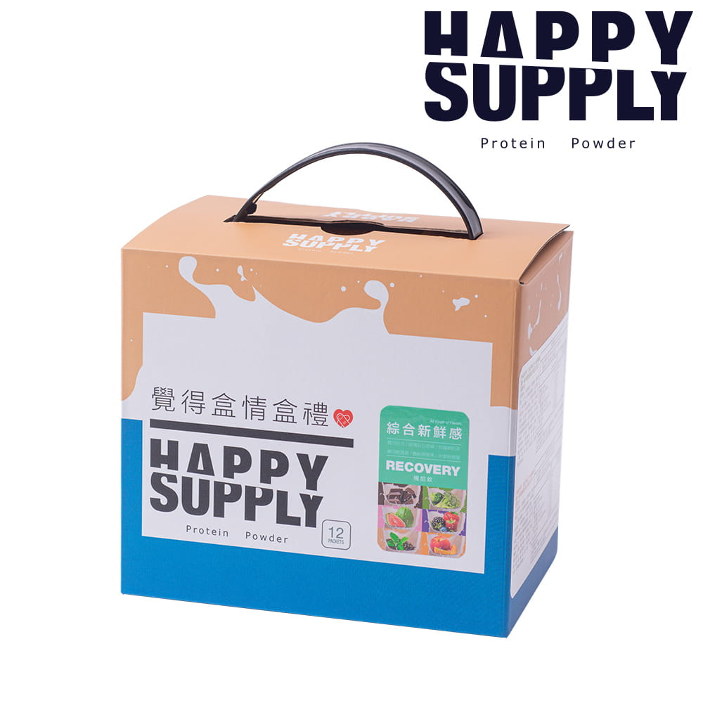 HAPPY SUPPLY-蛋白機能飲-綜合風味-12入(盒)