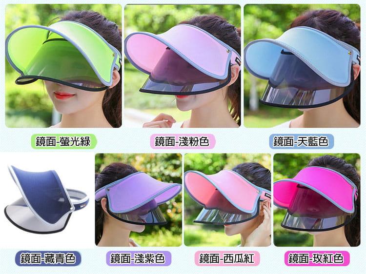 【JAR嚴選】升級版抗UV雙層可調式遮陽帽 8