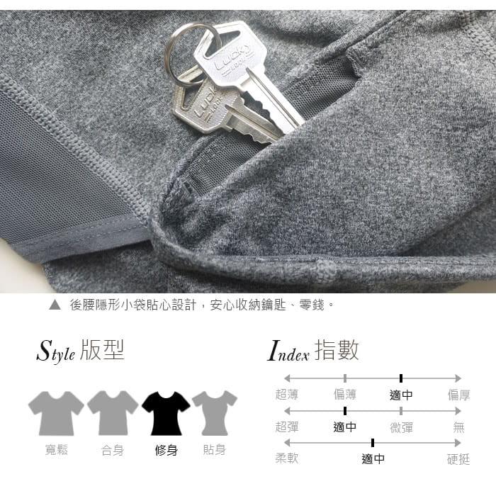 【Un-Sport高機能】網紗立裁-輕加壓顯瘦提臀吸濕排汗長褲(瑜伽/健身/路跑) 11