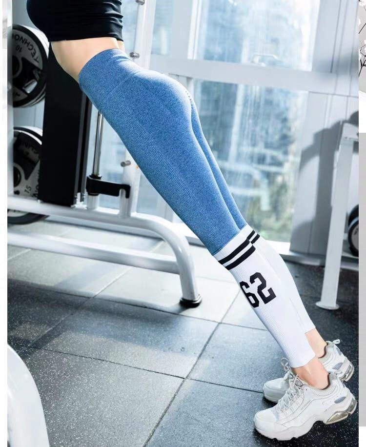 運動休閒長褲seamless 顯瘦修身 韻律有氧跑步瑜珈-KOI 4