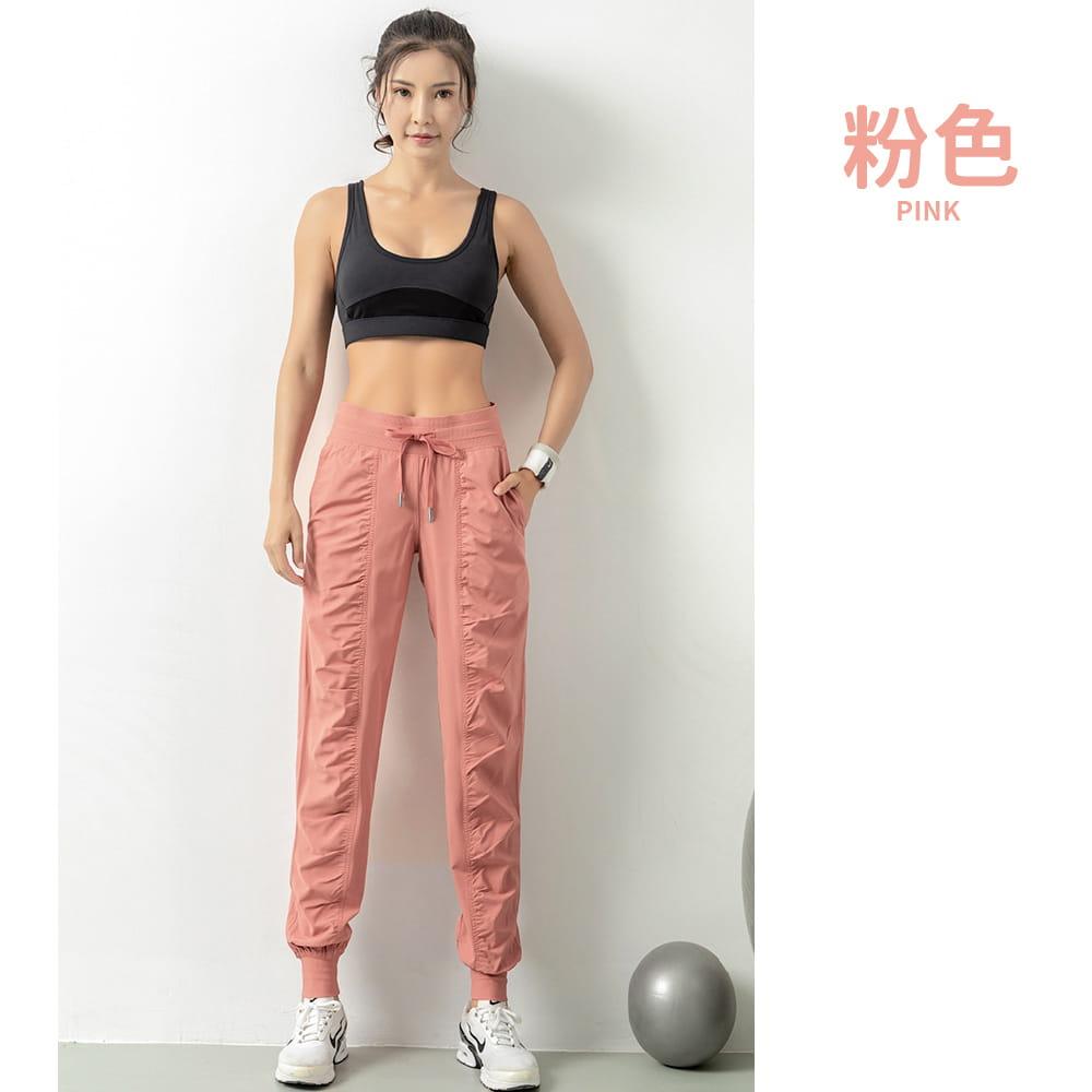 輕薄透氣寬鬆機能運動褲 7