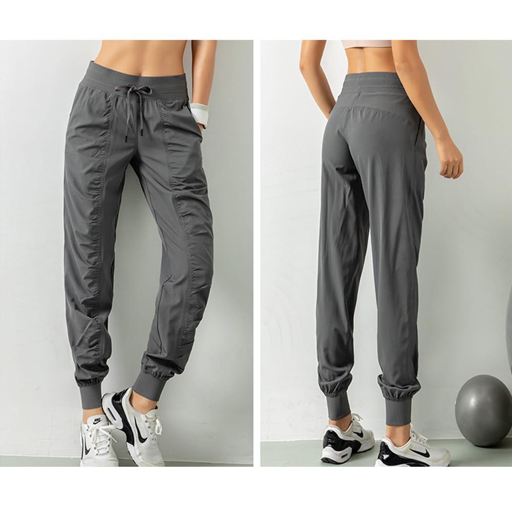 輕薄透氣寬鬆機能運動褲 13