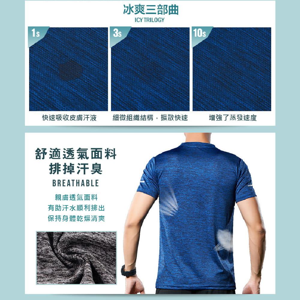 【NEW FORCE】運動機能吸濕排汗衫-4色可選 3