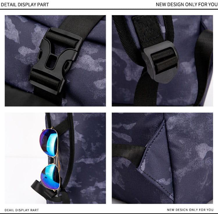 防水迷彩雙肩背包 8