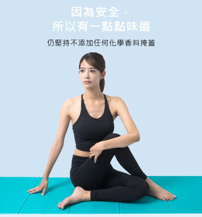 瑜珈舒緩按摩三件組(按摩滾棒+瑜珈滾筒+TPE瑜珈墊) 6